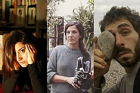 María Cañas, Pilar Monsell and Omar Razzak, invited filmmakers in the seventh edition of the X Films Project