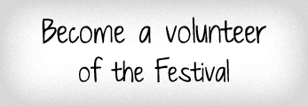 Become a volunteer of the festival